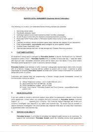 Service Contract Sample Template Sample Service Contract Template 13
