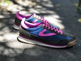 Tretorn Rawlins2 Sneakers - rich ivy/lyons blue/neon fuschia | Garmentory