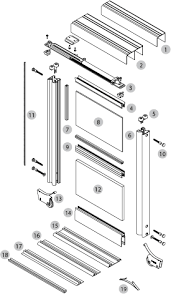 sliding wardrobe doors detail. Brilliant Doors Aluminium Sliding Wardrobe Doors With Sliding Wardrobe Doors Detail U