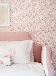 blush pink velvet daybed with pink