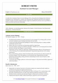 Client Relationship Management Resume Assistant Account Manager Resume Samples Qwikresume