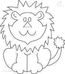 1001 Kleurplaten Dieren Leeuw Kleurplaat Leeuw