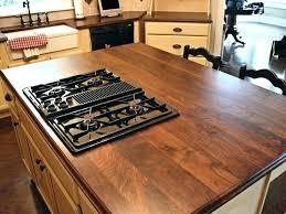 black walnut island countertop black walnut butcher block custom wood kitchen pertaining to idea island design 8 black walnut home ideas home ideas