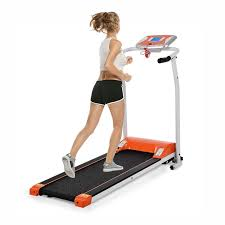 running home office. Hindom Foldable Treadmill, Portable Electric Motorized Running Machine For Home Office Fitness (US STOCK