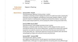 Preschool Teacher Assistant Resume Preschool Assistant Teacher Resume With No Experience Lovely 64