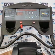 treadmill life fitness 9100 karen