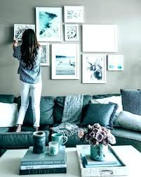 grey and blue living room decorating