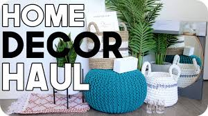 Small Picture Home Decor Haul Home Decor Ideas for Cheap YouTube