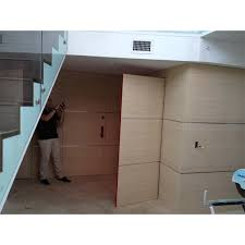 hidden door in wall. tarsi modern bicolor doors. maple wall paneling hidden door in