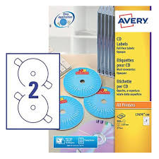 Avery Cd Labels Avery L7676 Laser Cd Labels 117mm Dia Ref L7676 100 100 Sheets