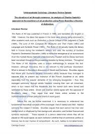 Comparative Literature Research Paper Writing Help Unaprol WHAT IS LR A literature review is the effective evaluation of selected  documents on a research