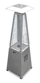 az patio heaters 39 portable outdoor propane quartz glass patio heater stainless steel 10 000 btus patiodepot com