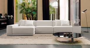 Living Spaces Bedroom Furniture Lovely Landscape From Glass Window Facing White Modern Sofa Bed In