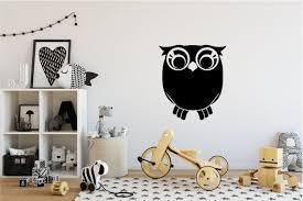 owl quality chalkboard wall decal