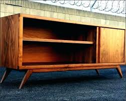 diy mid century modern tv stand stand natural wood mid century modern stand home decorators catalog outdoor rugs
