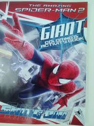 Our spiderman coloring pages are a simple and easy way to encourage and enhance creative expression. Buy The Amazing Spider Man 2 Giant Coloring Activity Book Swing On In Cheap Price On Alibaba Com
