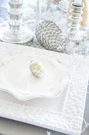 WINTER WHITE TREES TABLESCAPE - StoneGable