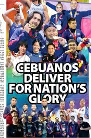 CEBUANOS DELIVER FOR NATION'S GLORY - PressReader
