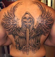 Tetování Smrtka Fotogalerie Motivy Tetování