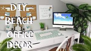 inspiring office decor. DIY Beach Decor Office Makeover- Pinterest Inspired Inspiring O