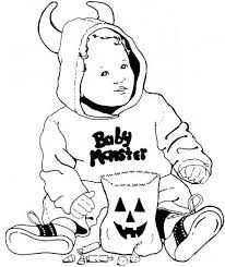 Small Picture Pooh Toddler Halloween Coloring Pages Printable Hallowen