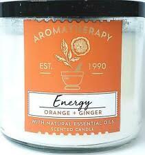 Bath & Body Works <b>ароматическая свеча</b> оранжевый декор свечи ...