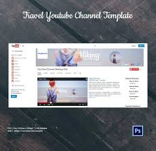 Youtube Channel Template Royal Banner Youtube Channel Page Template Psd Updrill Co