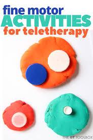 fine motor skills in teletherapy