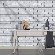 HaokHome H1096 Faux Brick Wallpaper ...