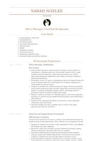office manager bookkeeper resume samples bookkeeper resume examples
