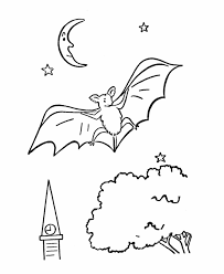 Small Picture Cute Bat Coloring Pages Coloring Coloring Pages