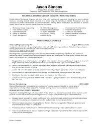 Entry Level Mechanical Engineering Resume Socialum Co