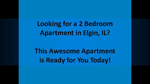 Captivating 2 Bedroom Apartment For Rent Elgin IL 60123  View It Today!  Elgin  Apartments For Rent   YouTube