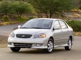 TOYOTA Corolla Sedan specs - 2002, 2003, 2004 - autoevolution