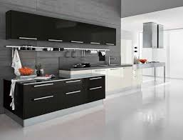 Delightful Black And White Kitchen Cabinets 3