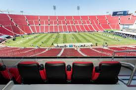 La Rams Seating Chart Los Angeles Rams Suite Rentals Los Angeles Memorial Coliseum