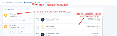 Transaction My Id How I Exodus Support Do Coinbase View -