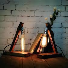 edison table lamp vintage home lighting. Edison Desk Lamp Loft Vintage Industrial Wood Table Light Cafe Bar Coffee Shop Reading . Home Lighting I