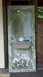 Old Window Frame Projects Best 25 Old Screen Doors Ideas On Pinterest Vintage Screen