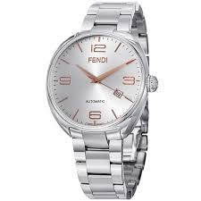 fendi men s f201016000 fendimatic silver dial stainless steel fendi men s f201016000 fendimatic silver dial stainless steel automatic watch