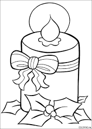 Small Picture christmas line drawing christmas coloring book page holiday candle