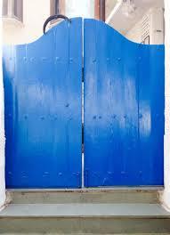 Door Design : Fixedw Large Blue Door Restaurant Mumbai Olive Bar ...