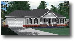 House Plans by Southern Heritage Home Designs   Southern House PlansHouse Plan  A James A