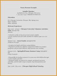 College Student Resume Best Of College Job Resume Resume College