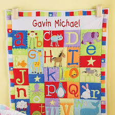 Personalized Baby Alphabet Quilt-Available in Primary or Pastel ... & Personalized Baby Alphabet Quilt-Available in Primary or Pastel Adamdwight.com