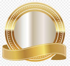 gold ribbon clip art gold seal cliparts