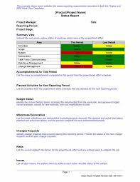 Reporting Formats In Word Activity Reporting Template 40 Project Status Report Templates Word