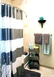 apartment bathroom ideas shower curtain. Apartment Bathroom Ideas Pinterest Small  Remarkable Ways To Inspire With Striped Curtains . Shower Curtain R