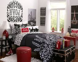 Paris Bedroom Decor : Paris Bedroom Decor Bedroomred Black And White Paris  Themed Bedroom Paris Themed Bedroom Tips Bedroom Red Black And White Paris  Themed ...