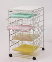 4-tier Wire Basket Drawer - Buy Wire Basket Drawer,Wire Drawer Storage,Wire  Storage Basket Drawers Product on Alibaba.com